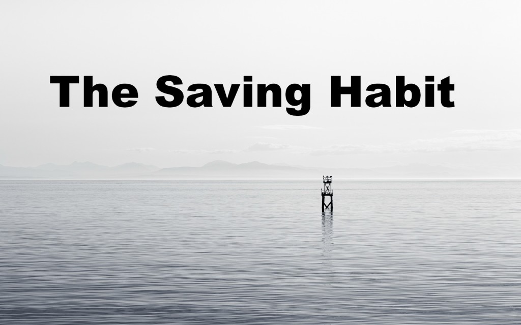 saving habit